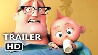 INCREDIBLES 2 Official Trailer (2018) Animation, Superhero Team Movie HD