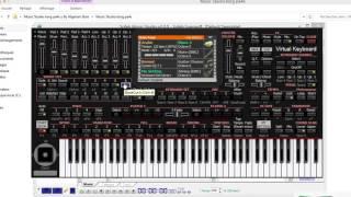 getlinkyoutube.com-تحميل برنامج KORG PA4X مع شرح طريقة التشريق وإضافة الإيقاعات والعزف 2016