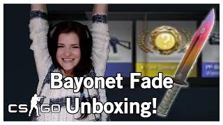 getlinkyoutube.com-CSGO KNIFE UNBOXING - Factory New Bayonet Fade