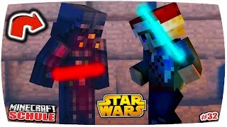getlinkyoutube.com-MINECRAFT SCHULE: ÜBERKRASSES STAR WARS BATTLE GEGEN DARTH VADER!! 😱🔥   (Minecraft Roleplay) • #32