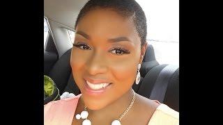 getlinkyoutube.com-How I Style My TWA | Natural Hair Tutorial | Jamaican Black Castor Oil