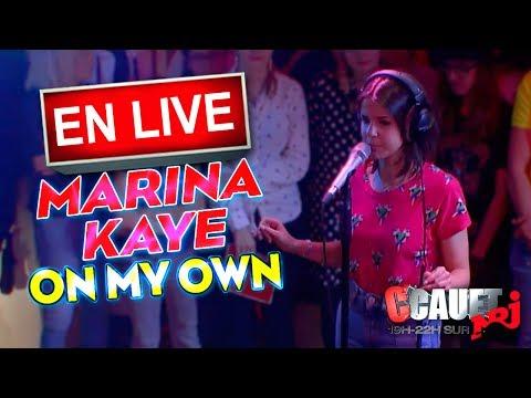 On My Own de Marina Kaye Letra y Video