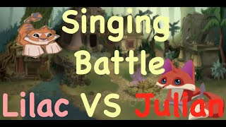 getlinkyoutube.com-Epic Singing Battles Of AnimalJam History- Julian2  V.S LilacPetal