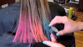 getlinkyoutube.com-Color Bug Hair Chalk