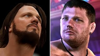 getlinkyoutube.com-WWE 2K17 vs TNA IMPACT - 5 Big Names That Appeared In Both! (WWE 2K17 Top 5)