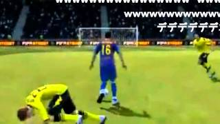 getlinkyoutube.com-腹筋崩壊するサッカーゲームのバグ集(高画質)