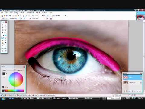 Paint.Net Tutorial - How to Make Makeup