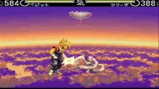 getlinkyoutube.com-Dragon Ball Z: Hyper Dimension - SNES - Gameplay