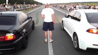 getlinkyoutube.com-2012.07.26 - BMW M3 Лёха & Lancer EVO X - Драг adrenalinetime.info