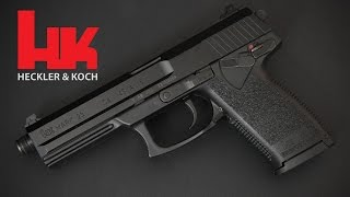 getlinkyoutube.com-Review: Heckler & Koch Mark 23 - How big is it, really?