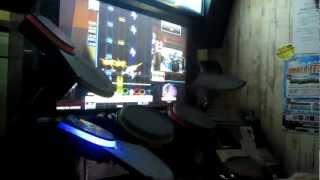 getlinkyoutube.com-Drummania XG3, 鬼姫 (MASTER 9.30) Full Combo SS!!!