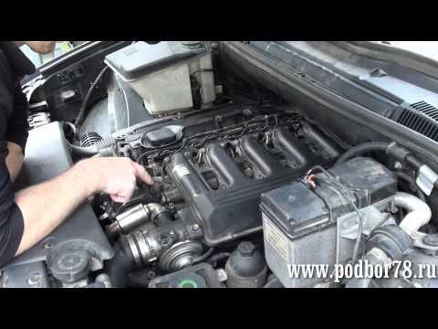 Ремонт Х5 замена клапана регулировки давления в топливной рампе.