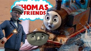 TREASURE CHASE and CRASH! Sodor's Legend of the Lost Treasure HO/OO remake
