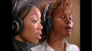 Whitney & Brandy Behind The Scenes