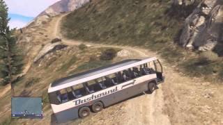 getlinkyoutube.com-Grand Theft Auto 5 Online -  Bus Tour