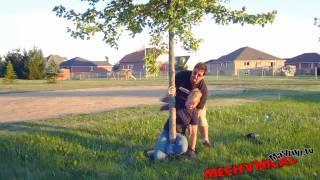 getlinkyoutube.com-hot girl tied to tree with no rope.mp4