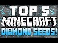 "Minecraft Seeds - ""TOP 5 Minecraft Seeds"" - (Minecraft 1.8) (Best Minecraft Diamond Seeds) 2014"