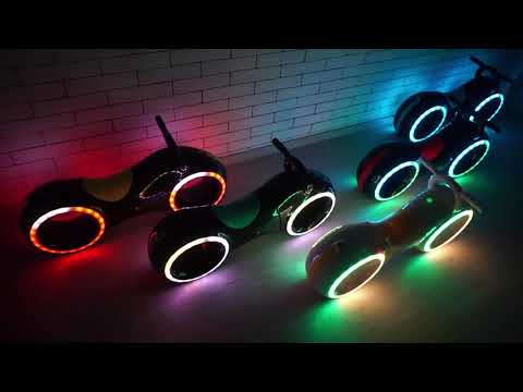 Baby Scooter Led Bluetooth