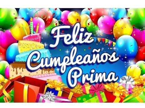 Feliz Cumpleaños Prima – Mensajes para un Cumpleaños Gratis | Etiquetate.net