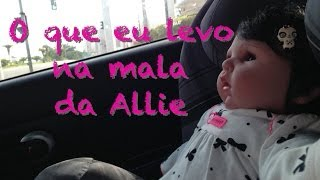 getlinkyoutube.com-Viajando com a minha Baby Allie: O que eu levo na mala Julia Silva