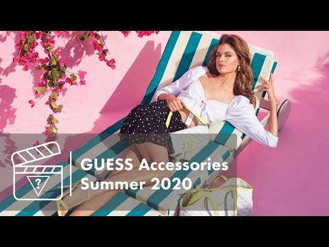 Behind The Scenes: GUESS Accessories Summer 2020
