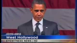 getlinkyoutube.com-WATCH OBAMA'S FACE FREEZE - 'ANTICHRIST SPIRIT' CONFRONTED!