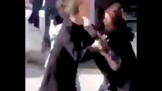 getlinkyoutube.com-Arabic Women Fight