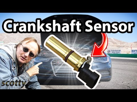 How to Replace a Crankshaft Position Sensor in Your Car (Code P0335)