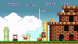 getlinkyoutube.com-Super Mario Bros Lost levels - World  A