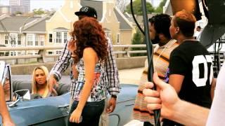 Alexis Jordan Hush Hush - Video Shoot