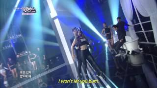 getlinkyoutube.com-Nasty Nasty - KNOCK   네스티네스티 - 노크 [Music Bank HOT Stage / 2014.09.12]
