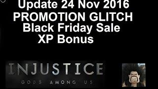 getlinkyoutube.com-Injustice Mobile: PROMOTION GLITCH IS BACK, Black Friday Sale, XP Bonus