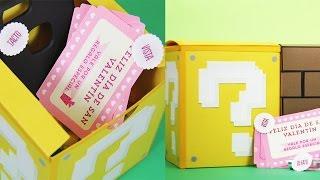 Caja de los sentidos estilo Mario Bros (REGALO PARA NOVIO) - Craftingeek
