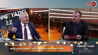 Bedri Yaşar, Mehmet Yazıcı'nın konuğu oldu