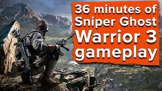 getlinkyoutube.com-36 minutes of Sniper Ghost Warrior 3 gameplay - Ian plays three whole missions!