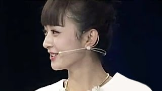 getlinkyoutube.com-赵丽颖戴假发刘海好可爱啊~~