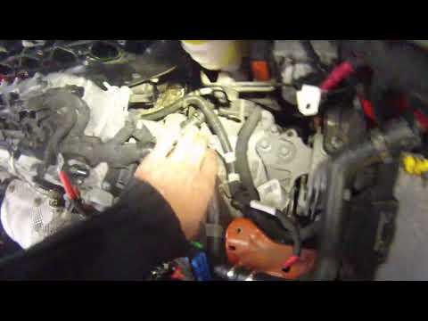 Fiat 500x 2.4 multiair USA ГБО демонтаж впускного колектора.Засада.