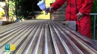 getlinkyoutube.com-Brise vue bois fabrication sur mesure et pose (partie 2/2)