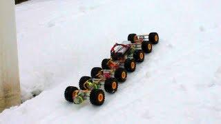 getlinkyoutube.com-14 WHEEL DRIVE Crawler