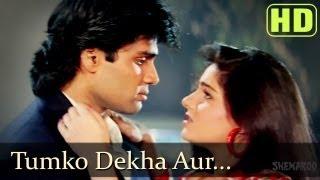 getlinkyoutube.com-Tumko Dekha Aur - Sunil Shetty - Mamta Kulkarni - Waqt Hamara Hai - Bollywood Songs - Kumar Sanu