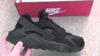 getlinkyoutube.com-New Pick Up: Nike Air Huarache Retro All Black
