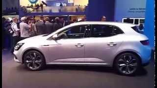 getlinkyoutube.com-Frankfurt 2015 - Renault Megane