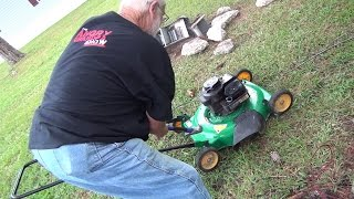 getlinkyoutube.com-LAWNMOWER MELTDOWN!