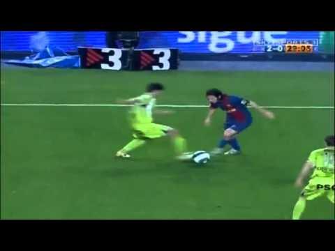 Leo Messi Maradona goal vs Getafe, just 19y old