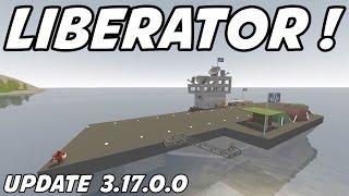 getlinkyoutube.com-UNTURNED - Liberator Aircraft Carrier with NPC's !! (Update 3.17.0.0)