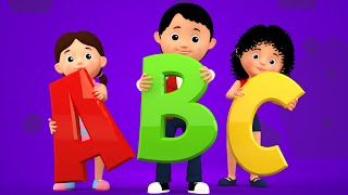 getlinkyoutube.com-ABC Song | 3d Nursery Rhymes | Kids Songs | Childrens Videos