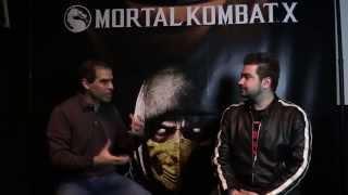getlinkyoutube.com-AngryJoe Mortal Kombat X Interview w/ Ed Boon