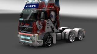 getlinkyoutube.com-ets 2 - Volvo FH16 Tuning ( HQ )