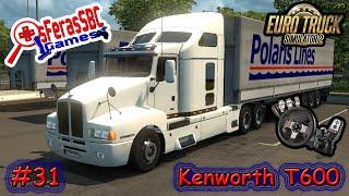 getlinkyoutube.com-Mod Kenworth T600 - Euro Truck Simulator 2 - V.1.21.x - #31