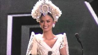 getlinkyoutube.com-Pia Wurtzbach miss universe philippines 2015 national costume